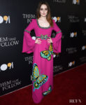 Kaitlyn Dever Rocks A Rainbow Butterfly Dress To The 'Them That Follow' LA Premiere