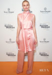 Kate Bosworth Rocks Millennial Pink For The Veuve Clicquot Business Woman Awards