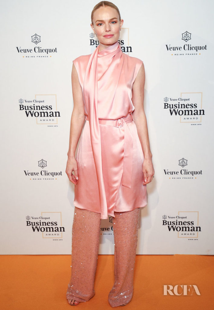 Kate Bosworth In Sally LaPointe - The Veuve Clicquot Business Woman Award