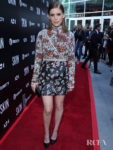 Kate Mara Rocks A Haute Couture Embellished Mini For The 'Skin' LA Screening