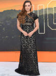 Katherine Langford Was A Lady In Black Lace For The 'Once Upon a Time In Hollywood' London Premiere
