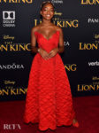 Marsai Martin Was Radiant In Red For 'The Lion King' World Premiere