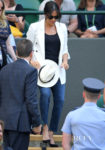 Meghan, Duchess of Sussex Keeps Things Casual On Day 4 Of Wimbledon