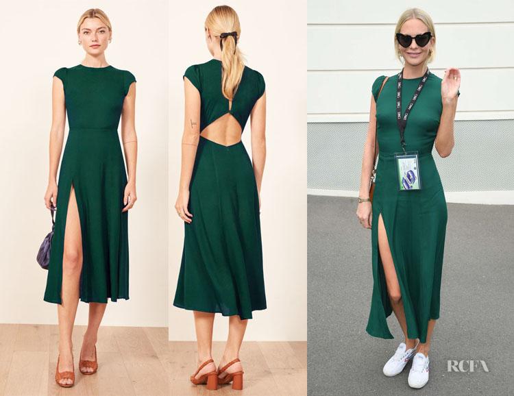 Poppy Delevingne's Reformation Gavin Dress