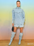 Natasha Poly's New Take On Double Denim For The Bonpoint Show