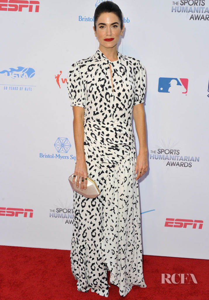 2eface9bad4 Nikki Reed In Self-Portrait - 5th Annual Sports Humanitarian Awards