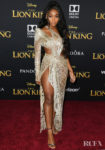 Normani Kordei Channels Her Inner Beyonce At 'The Lion King' World Premiere