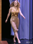 Rachel Brosnahan's Silk & Sequin Moment On The Tonight Show Starring Jimmy Fallon