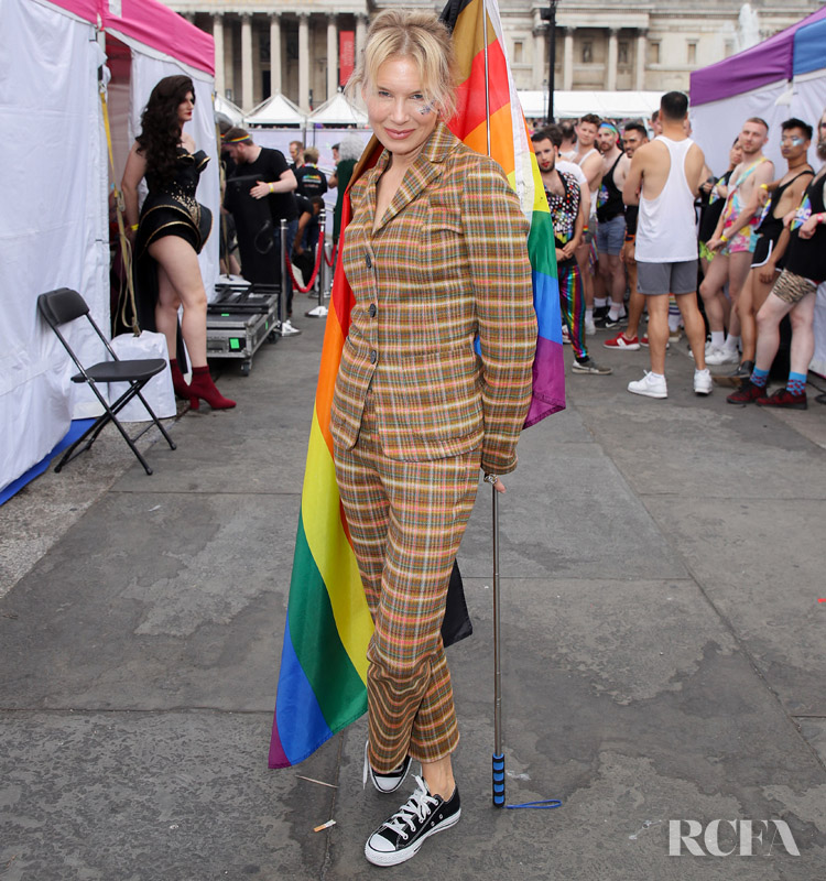 Renee Zellweger Checks Out Pride London in Missoni