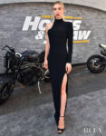 Vanessa Kirby Rocks Tom Ford To The 'Fast & Furious Presents: Hobbs & Shaw' LA Premiere