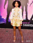 Yara Shahidi's Comic-Con Floral Look Screams Summer