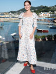 Zoey Deutch: Summer Smocking For The Ischia Global Film & Music Fest