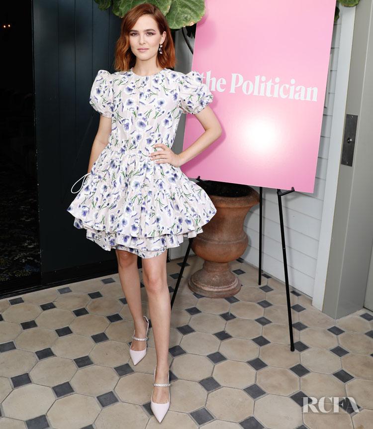 Zoey Deutch In Miu Miu - 'The Politician' LA Screening