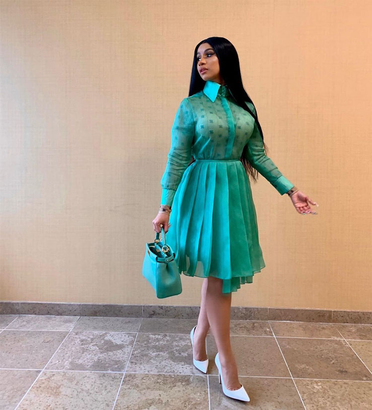 Cardi B Was Redefining Political Style For Her Chat With Bernie Sanders