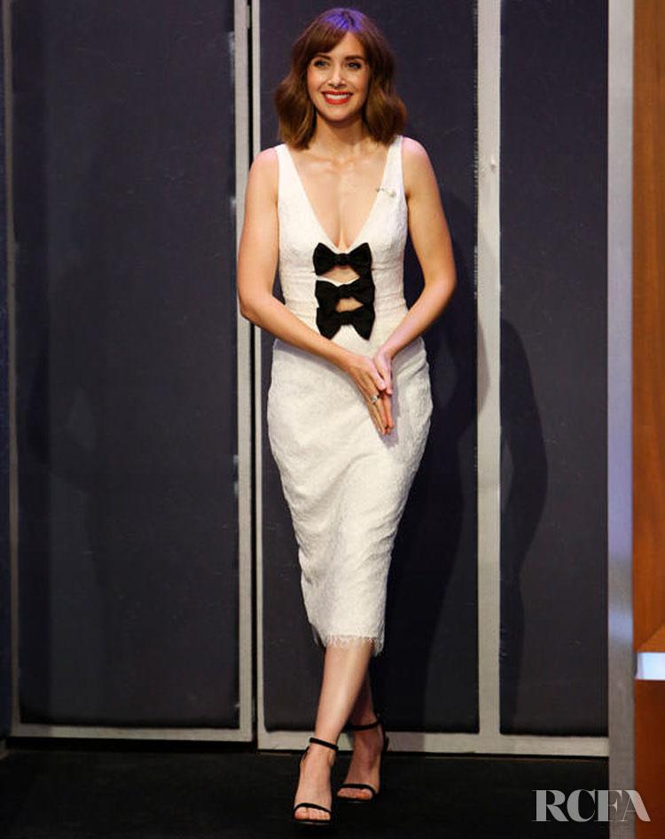 Alison Brie In Rasario - Jimmy Kimmel Live!