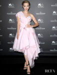 Amanda Seyfried Was Trending In Pink For The Venice Film Festival Jaeger-LeCoultre Gala Dinner