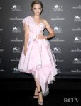 Amanda Seyfried Was Trending In Pink For The Venice Film Festival Jaeger-LeCoultre Gala Dinner