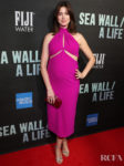 Anne Hathaway's Hot Pink Maternity Style For 'Sea Wall / A Life' Opening Night On Broadway