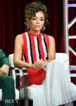 Ashley Madekwe's Summer Stripes For The 2019 Summer TCA Press Tour