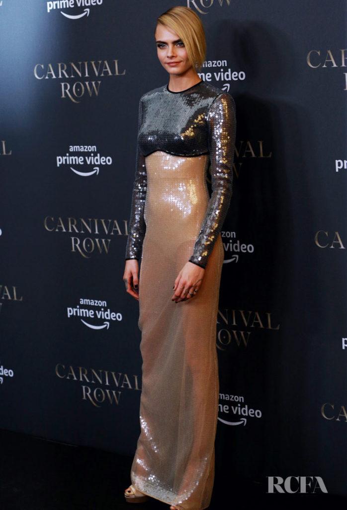 Cara Delevingne in David Koma - Carnival Row Berlin Premiere