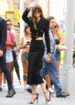Dakota Johnson's Stylish Appearance On Build Series For 'The Peanut Butter Falcon'