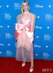 Elle Fanning's Dramatic Bow Steals The Spotlight At The Disney D23 Expo 2019 For 'Maleficent: Mistress of Evil'