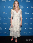 Emily Blunt Was Lovely In Lace At The D23 EXPO For 'Jungle Cruise'