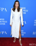 Eva Longoria Turns To Vitor Zerbinato Once Again For The Hollywood Foreign Press Association's Annual Grants Banquet