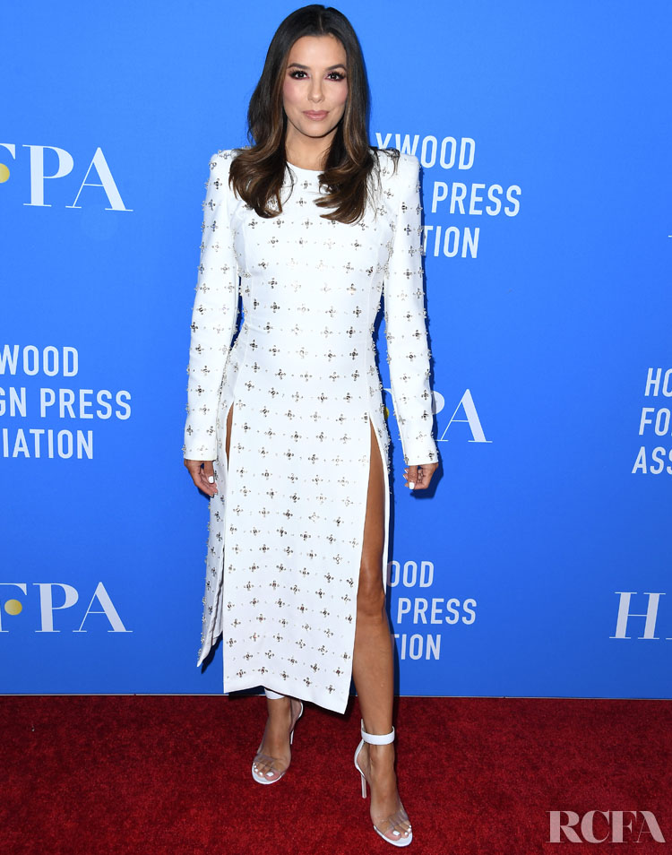 Eva Longoria For The Hollywood Foreign Press Association's Annual Grants Banquet