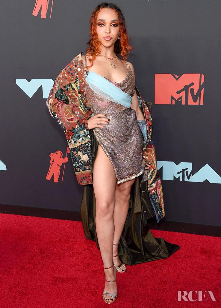 FKA twigs In Ed Marler  - MTV VMAs