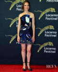 Hilary Swank's Haute Couture Moment For The Locarno Film Festival