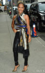 Jada Pinkett Smith Promotes 'Angel Has Fallen' In New York City