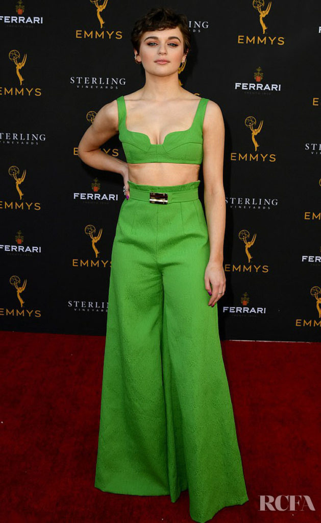 Joey King Leaves Us Green With Envy At The Television Academy's Performers Peer Group Celebration