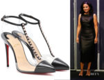 Julia Louis-Dreyfus' Christian Louboutin Nosy Spikes Pumps