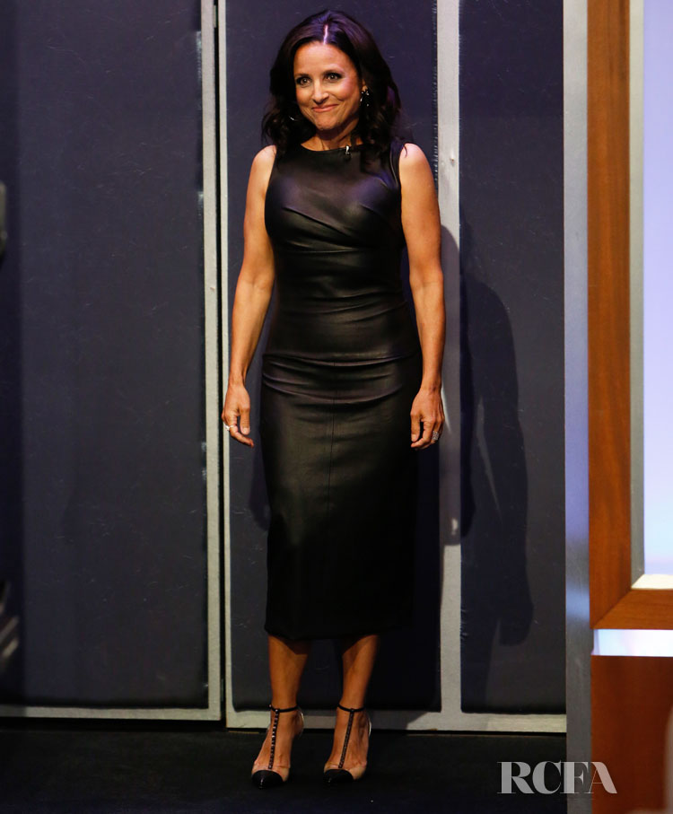 Julia Louis-Dreyfus' LBD For Jimmy Kimmel Live!