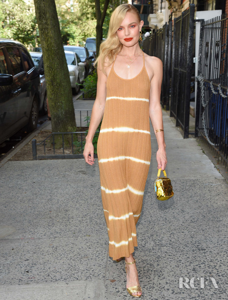 Kate Bosworth Reignites The Tie-Dye Summer Trend in Mango