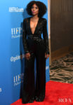 Kerry Washington's Sleek Black Jumpsuit For The Hollywood Foreign Press Association's Annual Grants Banquet