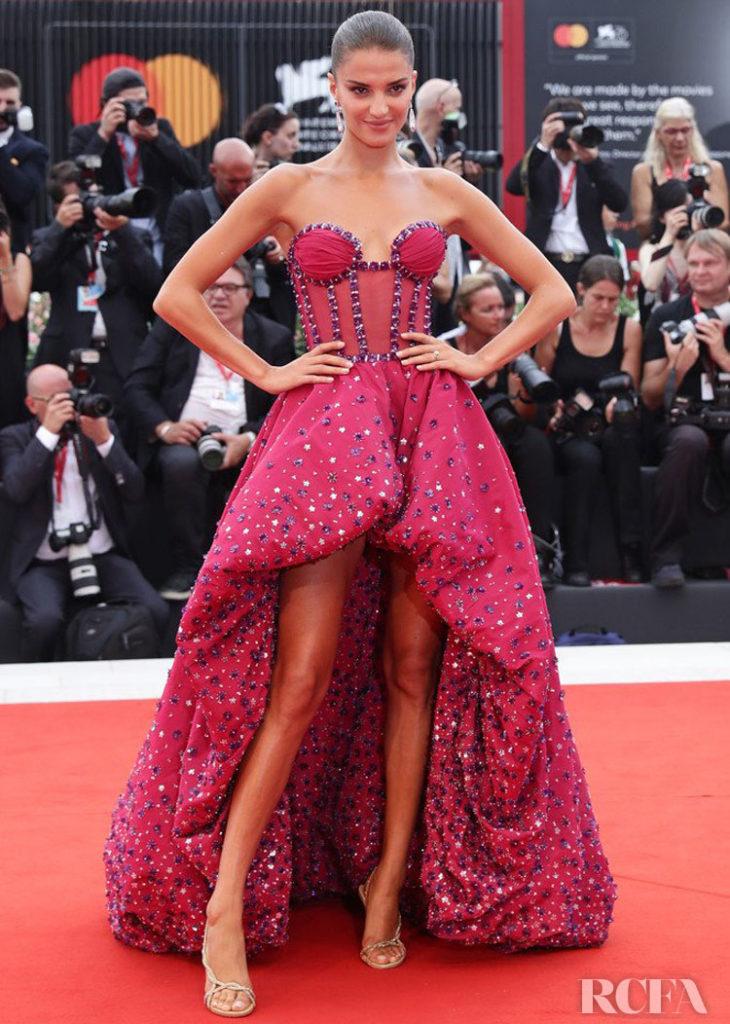 Gabrielle Caunesil in Rami Kadi - 'La Verite' Venice Film Festival Premiere