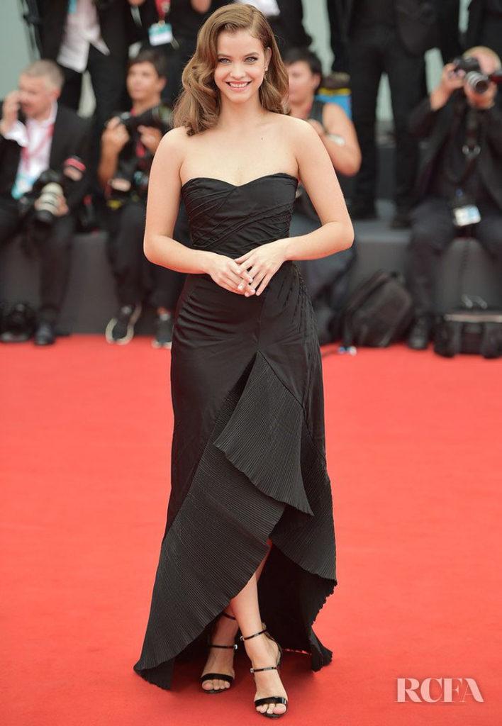 Barbara Palvin in Armani Prive - 'La Verite' Venice Film Festival Premiere