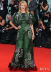 Laura Dern In Gucci -  'Marriage Story' Venice Film Festival Premiere