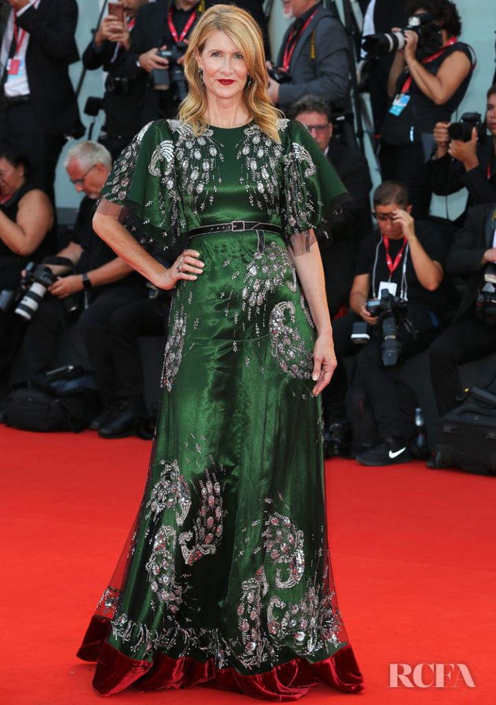 Laura Dern In Gucci -  'Marriage Story' Venice Film Festival Premiere