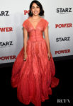 Lela Loren Has A Princess Moment At The 'Power' New York Premiere