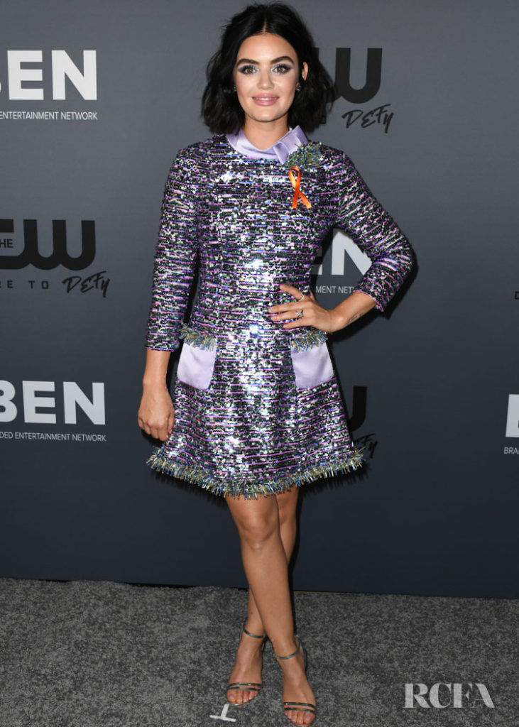 Lucy Hale In Viktor & Rolf Soir - The CW's Summer TCA All-Star Party