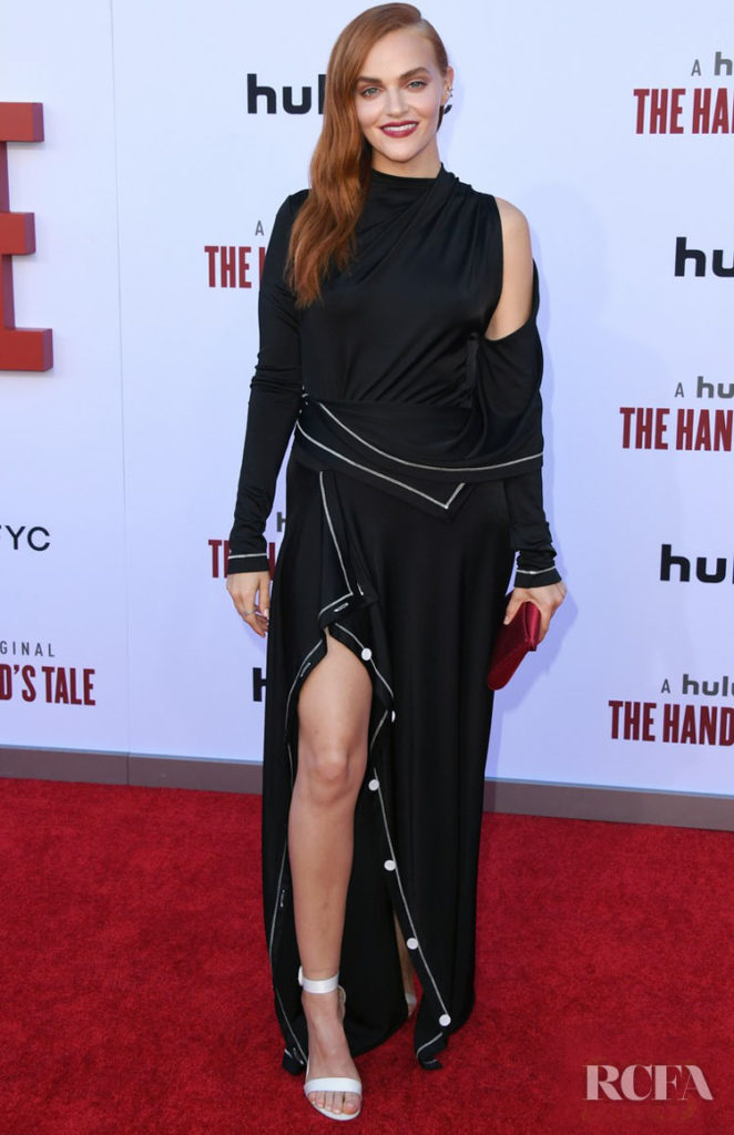 Madeline Brewer's Modern Monse Moment At  'The Handmaid's Tale' Season 3 Finale Celebration