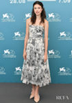 Margaret Qualley In Christian Dior - 'Seberg' Venice Film Festival Photocall
