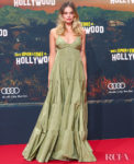 Margot Robbie Goes Maxi For The Berlin Premiere Of 'Once Upon a Time in Hollywood'