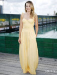Margot Robbie Rocks A Yellow Look To The Berlin Photocall Of 'Once Upon a Time in Hollywood'