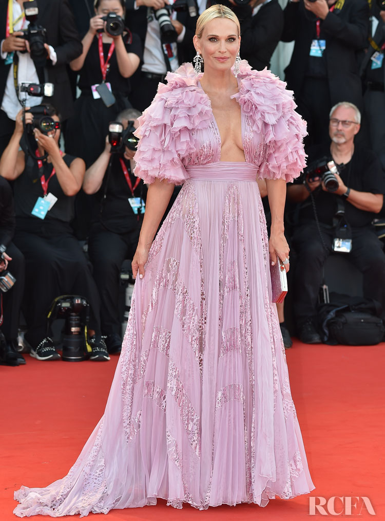 Molly Sims In Zuhair Murad Couture - 'Marriage Story' 2019 Venice Film Festival Premiere