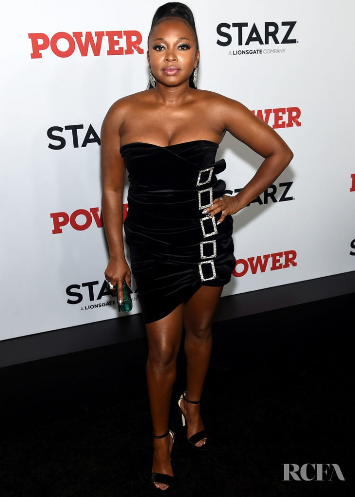 Naturi Naughton In Alexandre Vauthier - Power New York Premiere