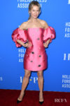 Renee Zellweger's Punchy Pink Moment For The Hollywood Foreign Press Association's Annual Grants Banquet